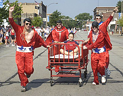 Hospital Bed Races